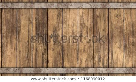 wood barrel Stock photo © nito