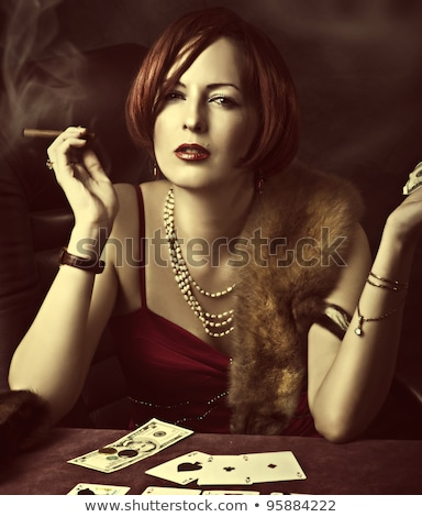 financial fortune teller stock photo © retrostar