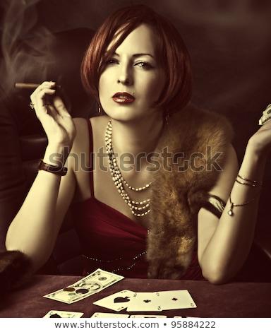 Financière affaires regarder richesse Photo stock © retrostar