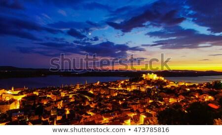 Sibenik night  Stock photo © LianeM
