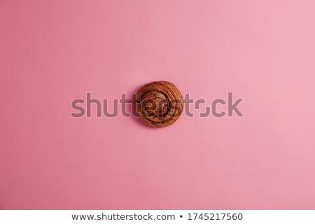 tasty cinnamon buns ready stock photo © klinker