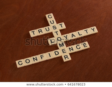 Consumer confidence word cloud Stock photo © tang90246