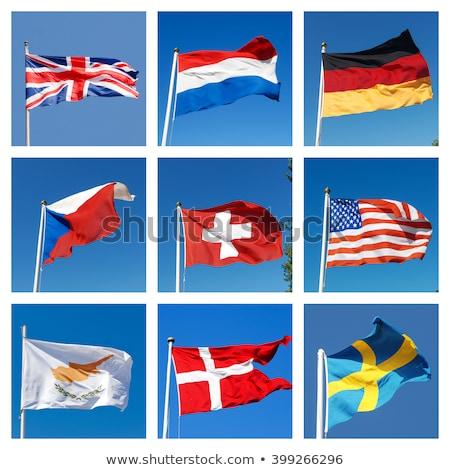 США республика Кипр флагами головоломки вектора Сток-фото © Istanbul2009