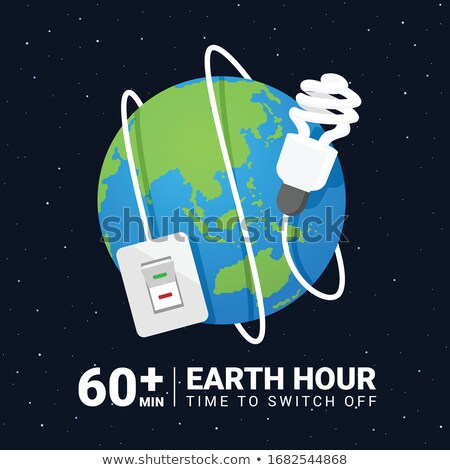 Terra hora transformar 60 minuto Foto stock © xuanhuongho