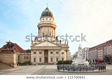 Fransız katedral Berlin Almanya Bina şehir Stok fotoğraf © AndreyKr