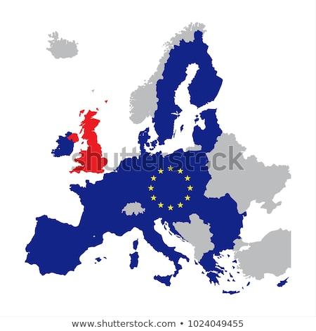 Stok fotoğraf: Avrupa · sendika · İrlanda · bayraklar · bilmece · vektör