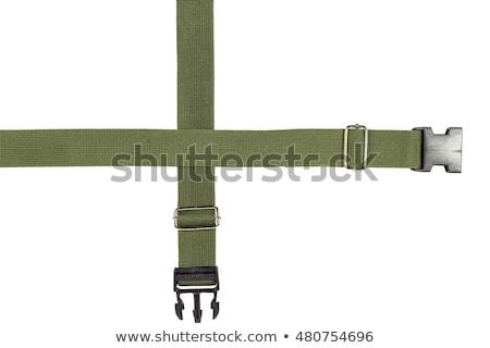 textile fabric belt buckle Stock photo © FOKA