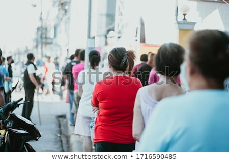 бездомным · голодный · человека · сидят · улице · бедные - Сток-фото © adrenalina