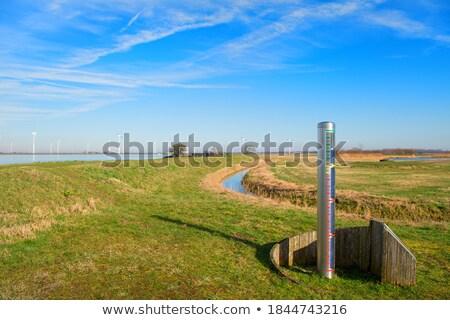 オランダ 風景 自然 湖 オランダ ストックフォト © ivonnewierink