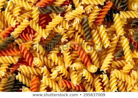 Tri-color corkscrew pasta  Stock photo © Digifoodstock