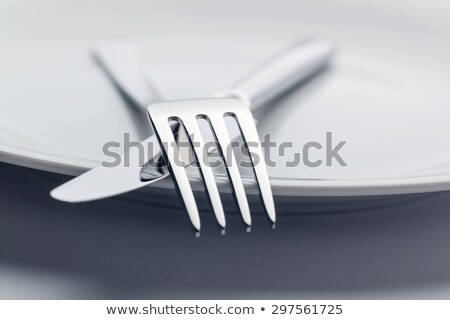 close up of kitchenware set on wooden table Stock photo © dolgachov