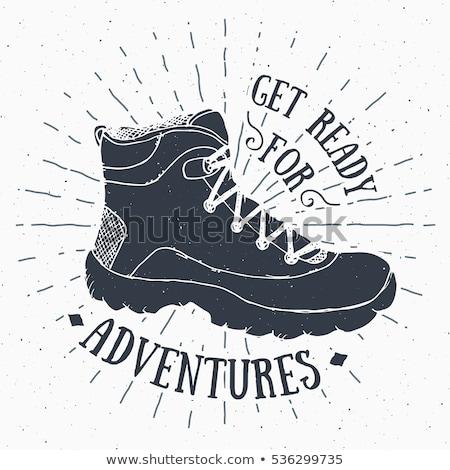 Stockfoto: Grunge Boots