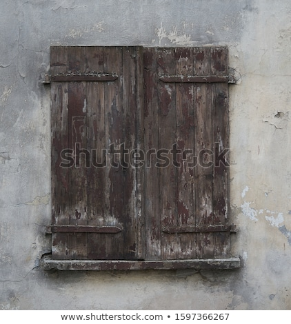 Stock photo: old dirty wall