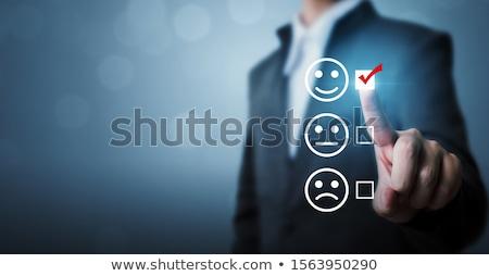 Jobb termék azonnali könnyű megoldás piros Stock fotó © kentoh