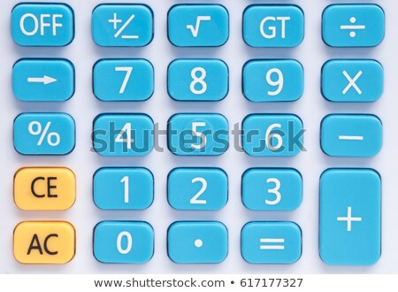 buttons with calculators stock photo © bluering