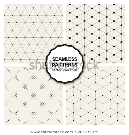 Stippel patroon abstract illustratie vector Stockfoto © derocz