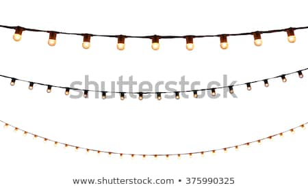 Electrical bulb, white light isolated Stock photo © zurijeta