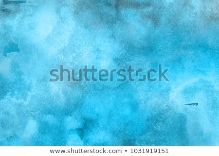 Gouache blue grunge texture Stock photo © Sonya_illustrations