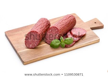 hard salami Stock photo © Digifoodstock