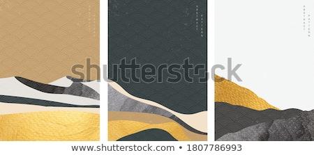 siyah · geometrik · soyut · mandala · toplama · doku - stok fotoğraf © genestro