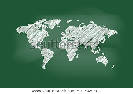 география · доске · мелом · текста · белый - Сток-фото © romvo