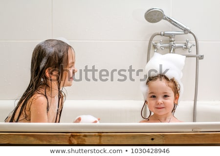 Two baby sisters in the bath. Stock photo © IS2