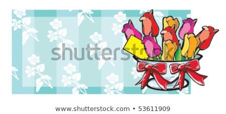 flower pot from terracotta 03 Stock photo © LianeM