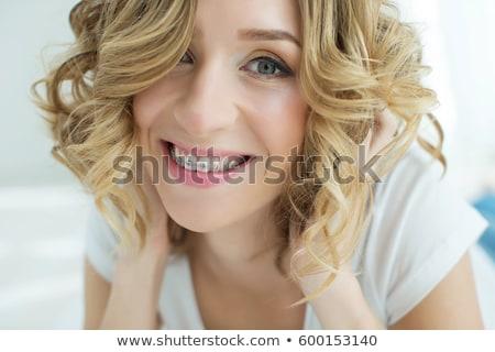 woman with brackets Stock photo © 26kot