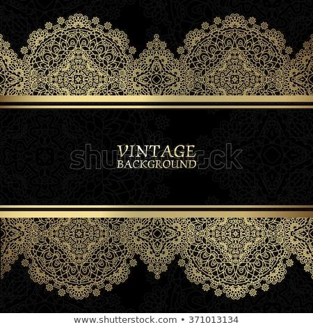 vector lacy wallpaper Stock photo © sanyal