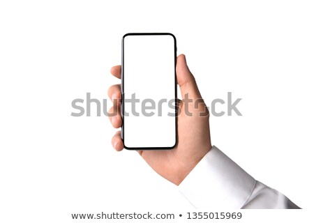 5G smart phone on white Stock photo © magraphics