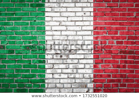 Colorato Italia pattern vintage doodle Foto d'archivio © netkov1