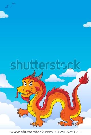 Chinese dragon theme image 7 Stock photo © clairev
