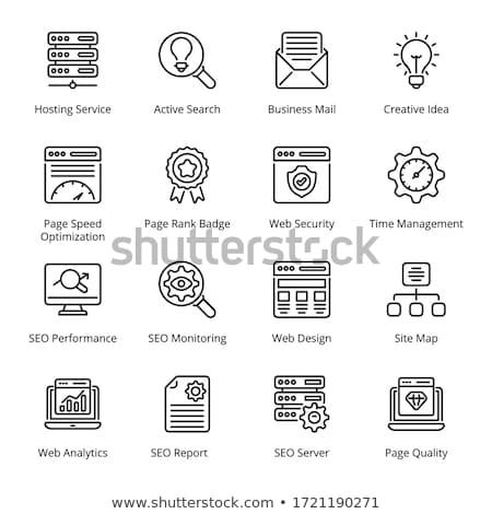 Fast Development Icon Stock photo © angelp