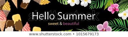 スーパー · 夏 · 販売 · バナー · 急ぐ · 1 - ストックフォト © robuart