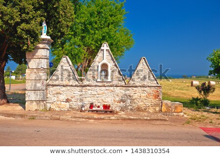 Religioso pedra ver região Croácia atravessar Foto stock © xbrchx