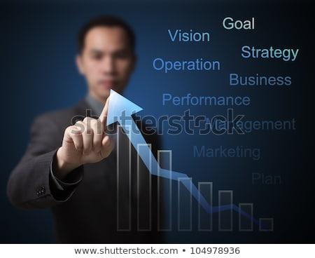 ведущий Стрелки бизнеса роста Финансы Сток-фото © SArts
