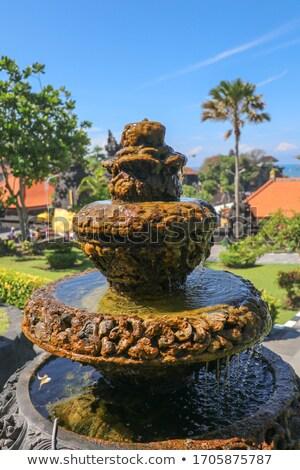 small fountain bali indonesia stock photo © galitskaya