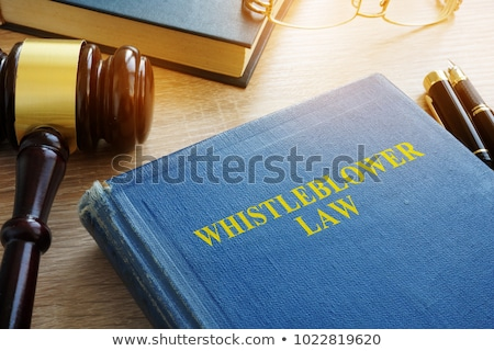 Whistleblower Law Stock photo © Lightsource