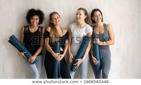 Grupy różnorodności ludzi siłowni Zdjęcia stock © Kzenon