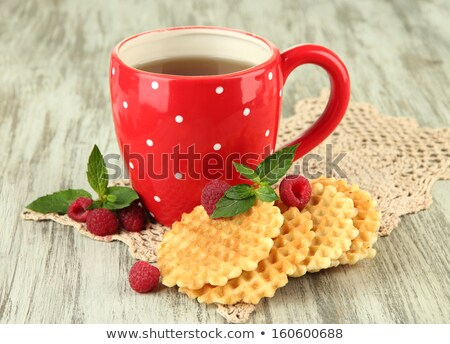 Cup of tea with shortbread  Stock photo © grafvision
