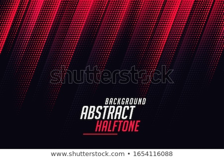 abstract halftone lines in red and black color Stock photo © SArts