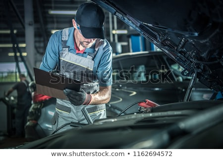 Auto car repair service center. Stock photo © grafvision