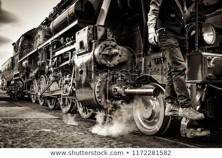 изменений · старые · железнодорожная · станция · вертикальный · движения - Сток-фото © sweetcrisis