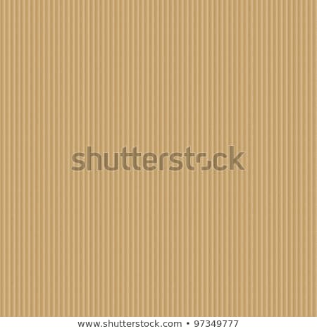 Corrugated cardboard seamless background. Stock photo © Leonardi