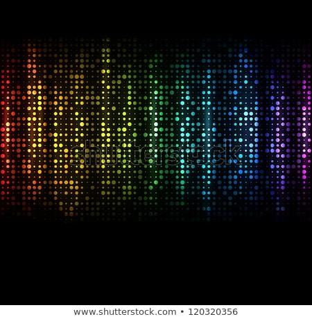 Foto stock: Abstrato · colorido · arco-íris · fundo · laranja