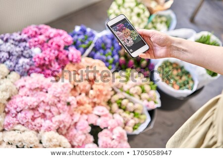 florist on the phone Stock photo © photography33