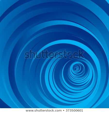 Blauw draaikolk schets illustratie patroon retro Stockfoto © Saphira