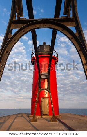 灯台 キャットウォーク 光 ミシガン州 市 インディアナ州 ストックフォト © Kenneth_Keifer