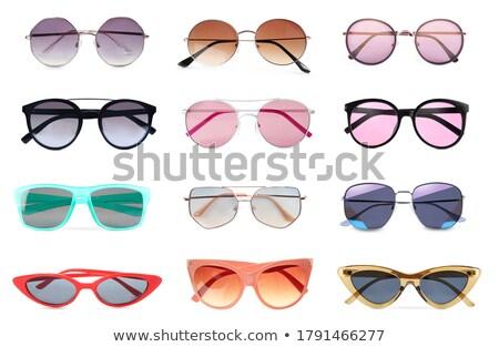 коллекция · Солнцезащитные · очки · белый · изолированный · пляж · солнце - Сток-фото © photography33