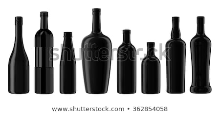 Decanter with glass.of liqueur. Stock photo © Pietus